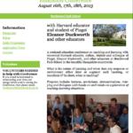 Un (super) workshop à Brokwood Park School cet été…