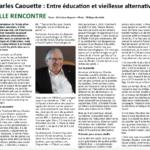 Charles Caouette: entre éducation et vieillesse alternatives